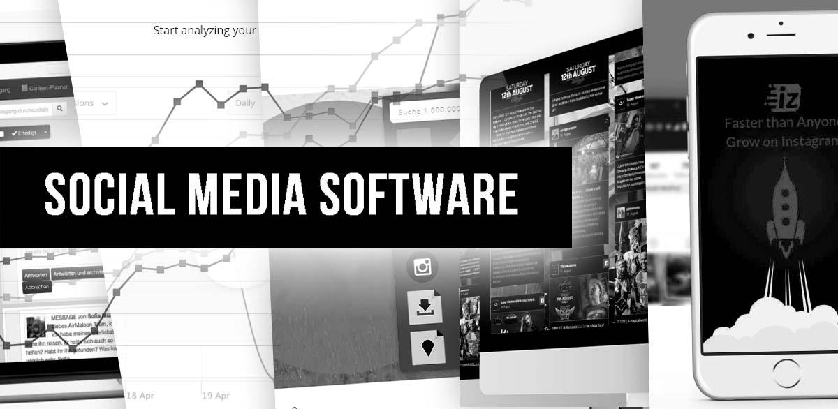 18+1 Outil de marketing des médias sociaux : Logiciels pour Facebook, Youtube, Instagram + cours en ligne