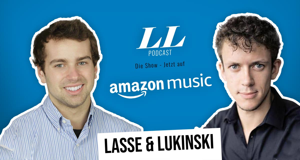 Amazon Music : Lasse & Lukinski Show maintenant aussi sur Amazon !
