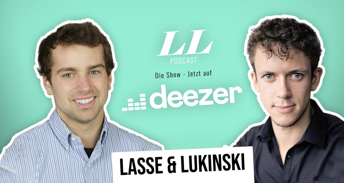 Deezer : Lasse & Lukinski Show maintenant aussi sur Deezer !