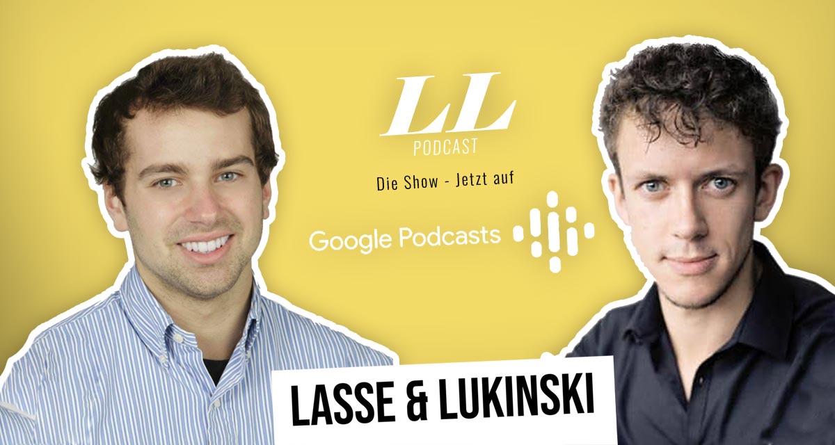 Google Podcasts : Lasse & Lukinski Show maintenant aussi sur Google !